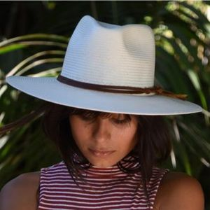 Anthropologie Wyeth Straw Lindsey Hat NEW